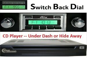 1980 86 Ford Truck Am Fm Stereo Radio W Switch Back Am Dial Cd Player 630df2