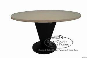 Triangle Cone Base Modern Design 54 Round Dining Table