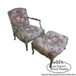 Stoneleigh Ltd Beautiful French Louis Xv Fauteuil Living Room Chair