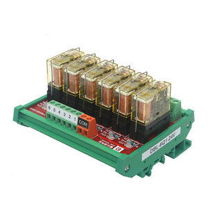 6 Channel Relay Board 1 Often Open And Closed Relay Amplifiers Drive Module 12v