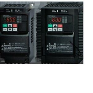 Hitachi Wj200 015sf 2 Hp 1 phase In 3 phase Out 200 240volt Or Phase Converter