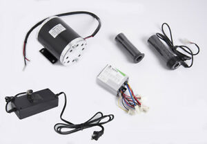 500 W 24 V Electric 1020 Motor Kit W Base Controller Throttle Charger F Scooter