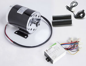 500w 24 V Electric Scooter 1020 Motor Kit W Base Controller Box Thumb Throttle