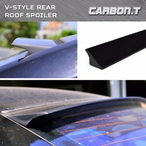 1999 2006 For Audi Tt 8n Coupe V type Roof Lip Spoiler Wing Painted