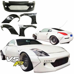 Vsaero Frp Tkyo Bunny Wide Body Kit 5pc For Nissan 350z Z33 03 08