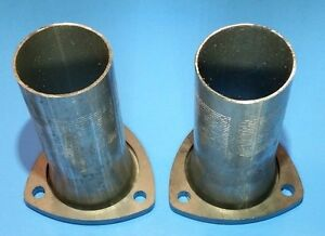 2 50 Header To 2 50 Od 3 Bolt Aluminized Gasket Style Collector Reducers Usa