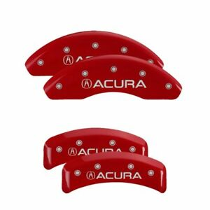 Mgp Caliper Brake Covers For Acura 2001 2003 Cl Red Paint 39002sacurd