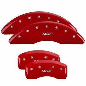 Mgp Caliper Brake Covers For Toyota 11 17 Sienna Red Paint 16221smgprd