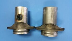 3 Header To 3 Exhaust 2 Bolt Socket W 02 Bung Header Collector Reducers Usa