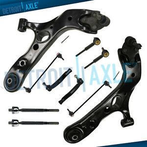Brand New 10pc Complete Front And Rear Suspension Kit For 2006 13 Toyota Rav4