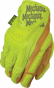Mechanix Wear Commercial Grade Hi viz Heavy Duty Tactical Glove Medium Yellow