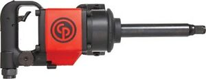 Chicago Pneumatic D handle Impact Wrench 3 4 Drive W 6 Ext Anvil 7763d 6