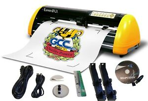 New Gcc Expert Lx 24 Plotter Contour Cut Winpcsign 2018 Usb Software Included