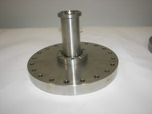 A n High Vacuum Research Chamber 8 cff Flange Reducer To 2 75 Cffflange Nor cal