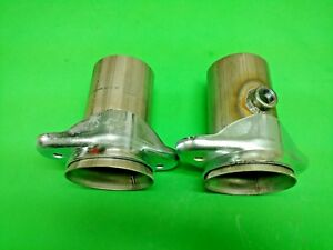 3 Header To 3 409 Stainless 2 Bolt Socket W 02 Bung Header Collector Reducers