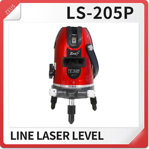 Ls 205 Rotary Laser Level New 4 Vertical 1 Horizontal Line Surveying Autolevels