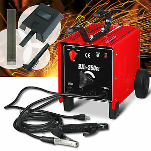 250 Amp Welder Machine 110 220v Arc Dual Welding Soldering Tools With Free Mask