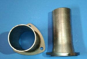 3 To 2 50 Outlet 3 Bolt Flange Exhaust Header Gasket Style Collector Reducers