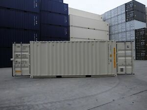 New 20 Double Door Shipping Container