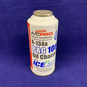 R 134a Refrigerant Pag 100 Oil Charge W Performance Enhancer 3oz