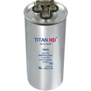 Mars Replacement Titan Hd Run Capacitor 80 5 Mfd 440 370v Round 12801 By Titan