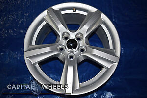 15 16 17 Ford Mustang Oem Wheel Rim Silver 10027 17x7 5 Fr3c 1007 Aa Silver