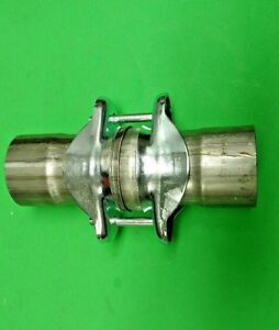 2 25 id To 2 25 Id 409 Stainless Exhaust Ball Socket Header Collector Usa