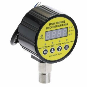 Air Compressor Pressure Switch Digital Pressure Gauge Meter Dc24vmeter