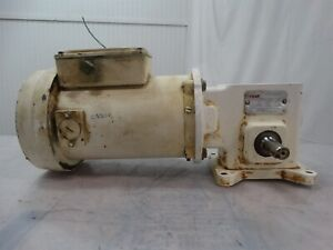 Sterling Electric Motor S00c22090a ry 1 4hp 90vdc 2 70a W dodge Reducer