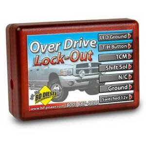 Bd Power Lockout Overdrive Disable For Dodge Cummins 5 9l 2005