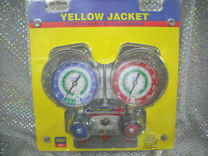 Yellow Jacket Titan R12 r22 R134a 2 valve 49843