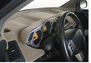 Fits 2003 05 Dodge Ram Grey Sedona Suede Dash Covers
