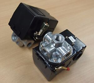 Lot Of 2 Pressure Switch Replacement For Air Compressor