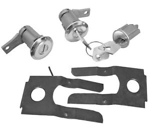 1965 1966 Mustang 1961 66 Ford Truck Standard Lock Key Set Ignition And Door Kit
