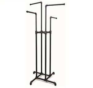 New Pipeline Collection 4 Way Garment Rack Black free Shipping