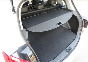 For 07 13 Mitsubishi Outlander Oe Style Grey Cargo Shielding Cover Trunk