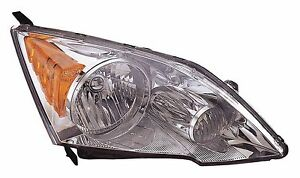 New Honda Crv 2007 2008 2009 2010 2011 Right Passenger Headlight Head Light