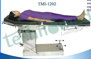 Tmi 1202 C arm Compatible Hydraulic Ot Table Oil Free With Eccentric Pillars