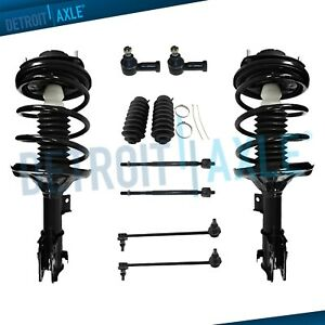 New Complete Front Strut Suspension Kit For Chrysler 2001 2005 Sebring Stratus