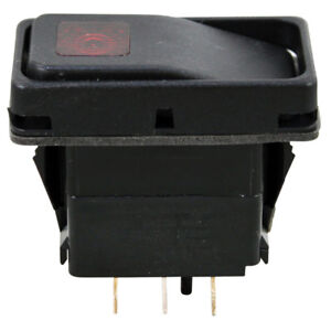 Cleveland Op Rocker Switch3 4 X 1 5 8 Dpdt 19993