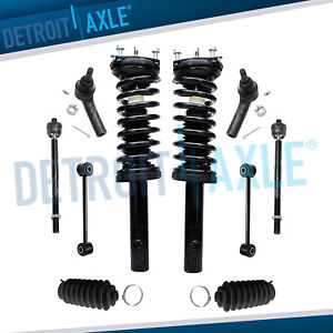 10pc Front Struts Suspension Kit For 2005 2010 Jeep Commander Grand Cherokee