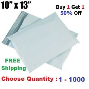 B1g1 50 Off 10x13 Poly Mailers Shipping Envelopes Plastic Mailing Bags 1 1000