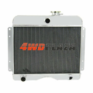 4row Full Aluminum Radiator For 1946 1964 Jeep Willys station Wagon pickup Truck