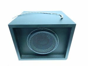 New Oem Ford Heavy Truck 1992 Speaker With Box Container Enclosure