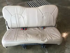 2000 Ford Eddie Bauer Expidition Third Row Leather Seat