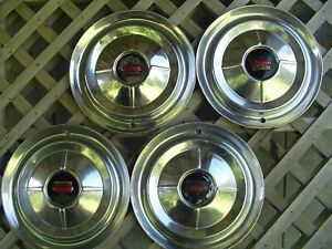 1954 54 Chrysler Imperial 300 Hubcaps Wheel Covers Center Caps Antique Vintage