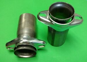 2 50 Header To 3 Od 409 Stainless Steel 2 Bolt Ball Socket Header Collector