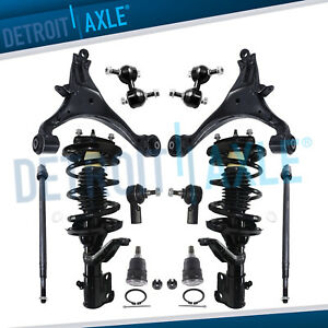 2003 2004 2005 Honda Civic 1 7l Only 12pc Complete Front Strut Spring Kit