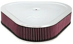 14 K N Triangle Air Cleaner Chrome