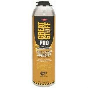 Great Stuff Pro Wall And Floor Professional Applicator Foam By Dow Chemical